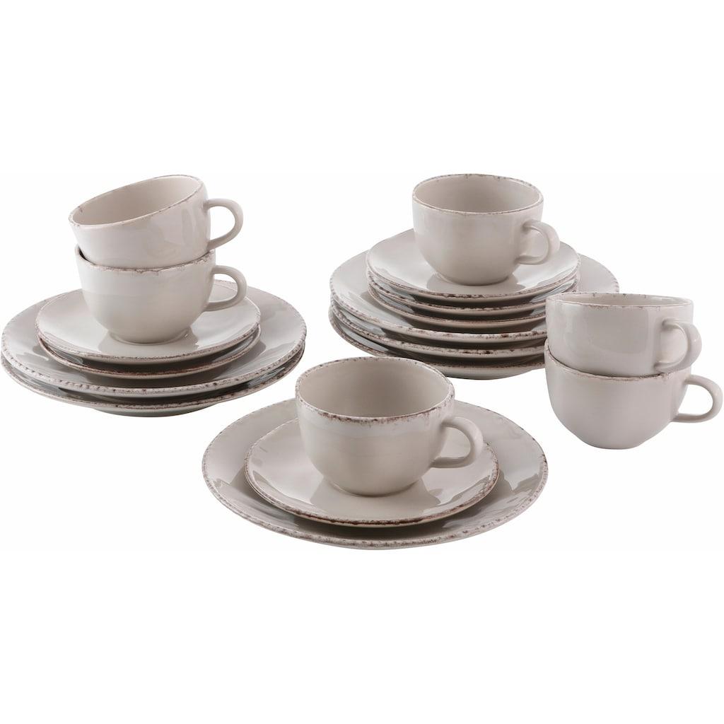 Guido Maria Kretschmer Home&Living Kaffeeservice »Naturals«, (Set, 18 tlg.), spülmaschinengeeignet