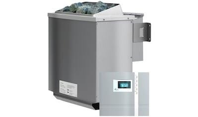 KARIBU Saunaofen »4,5 kW Bio - Kombiofen«, inkl. ext. Steuerung »Premium Bio« und 18 kg Saunasteine kaufen