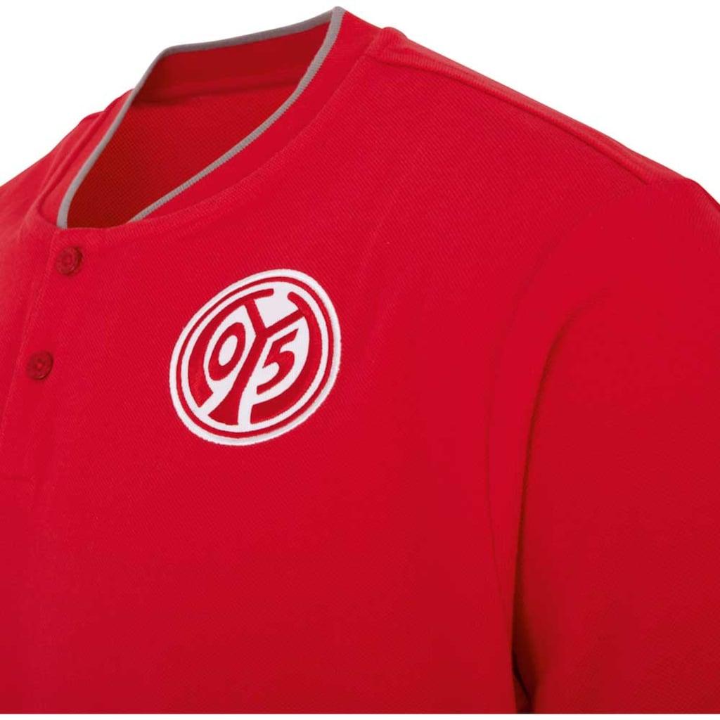 Kappa Poloshirt »MAINZ 05 POLOSHIRT«, in Piqu&eacute; Qualit&auml;t<br />