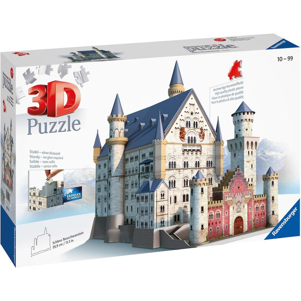 Ravensburger 3D-Puzzle »Schloss Neuschwanstein«, Made in Europe, FSC® - schützt Wald - weltweit