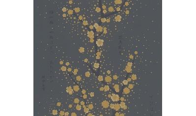 Vliestapete »Asian Fusion«, asiatisch-floral-mit Schrift kaufen