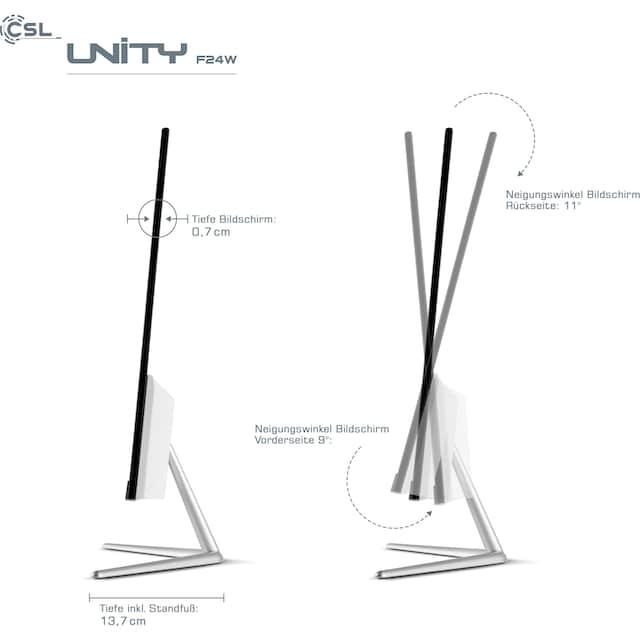 CSL »Unity F24-GL mit Windows 10« All-in-One PC (Intel, Celeron, UHD Graphics 600, passiver CPU-Kühler)