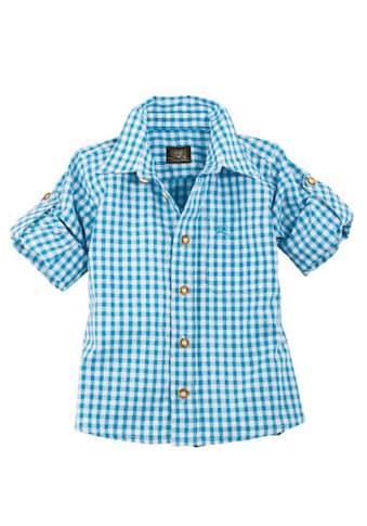 Trachten Kinderhemd kariert, OS - Trachten kaufen