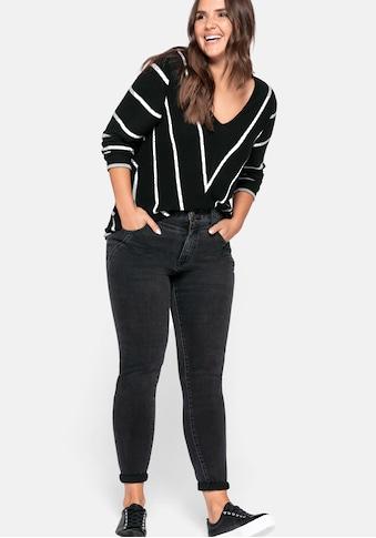 Sheego Stretch-Jeans, in extra schmaler Beinform kaufen
