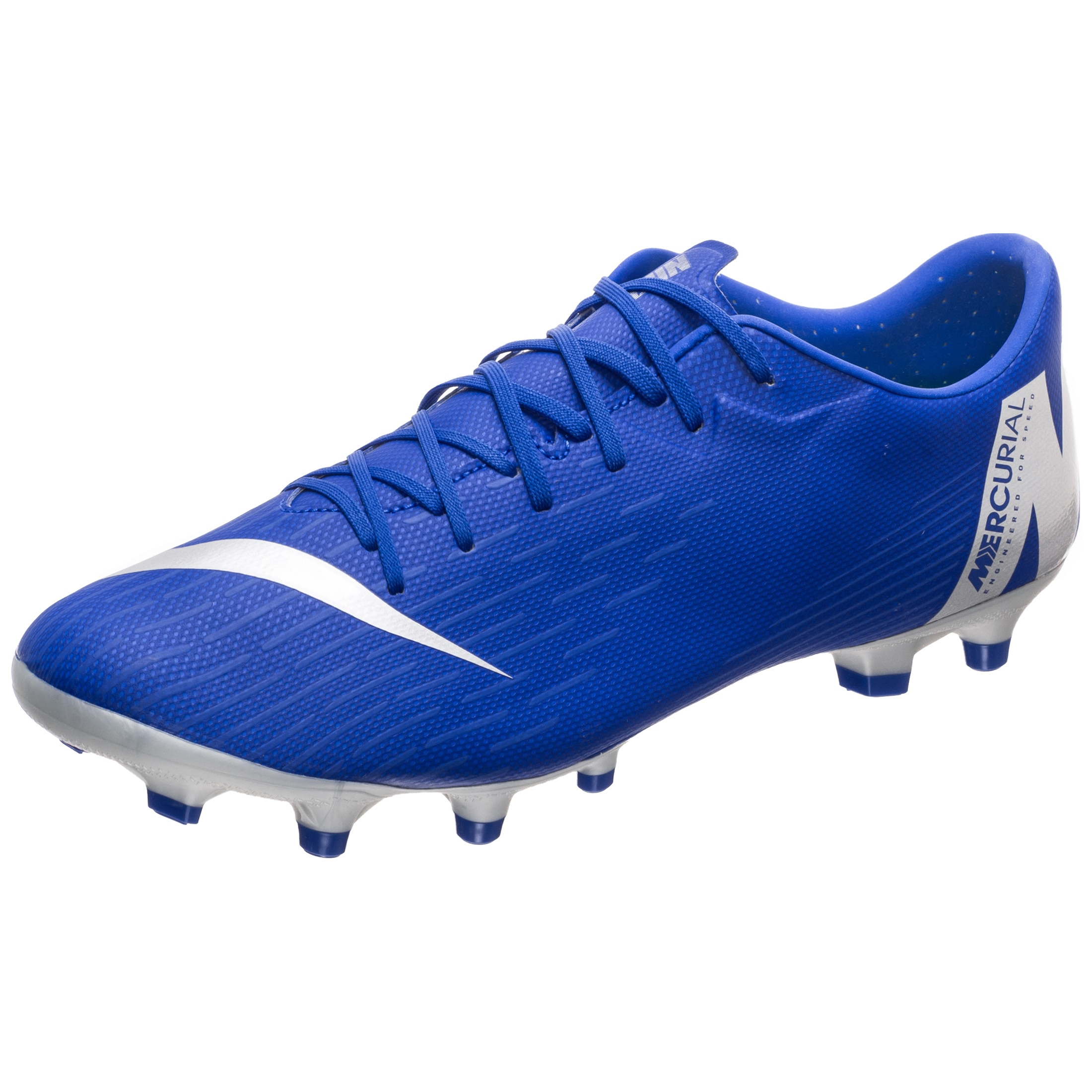 Nike Fußballschuh Mercurial Vapor Xii Academy | Schuhe > Sportschuhe > Fußballschuhe | Blau | Nike