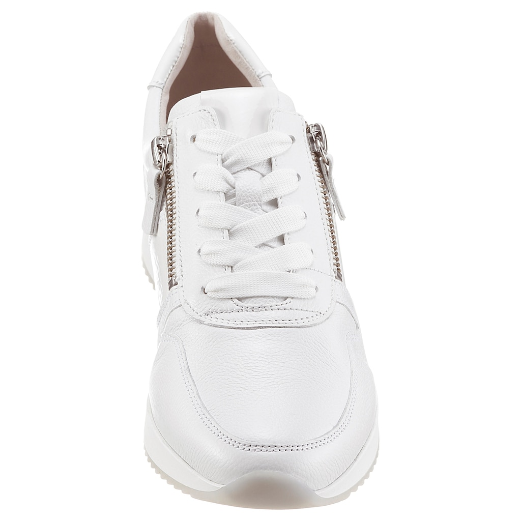Gabor Keilsneaker, mit zweckmäßigem Außenreißverschluss
