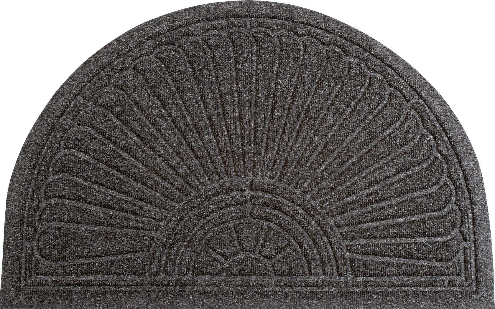 Fußmatte Gallery Halfmoon Kleen-Tex halbrund Höhe 10 mm