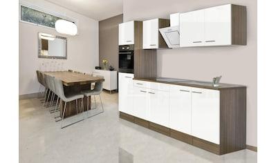 RESPEKTA Küchenzeile »York«, mit E-Geräten, Breite 270 cm kaufen