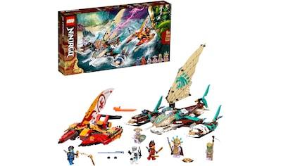 LEGO® Konstruktionsspielsteine »Duell der Katamarane (71748), LEGO® NINJAGO®«, (780 St.), Made in Europe kaufen