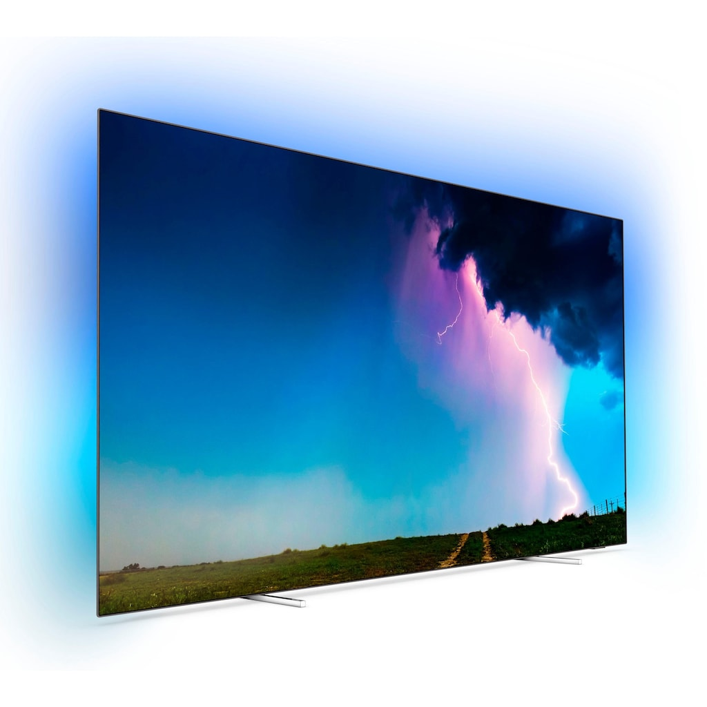 Philips 55OLED754/12 OLED-Fernseher (139 cm / (55 Zoll), 4K Ultra HD, Smart-TV