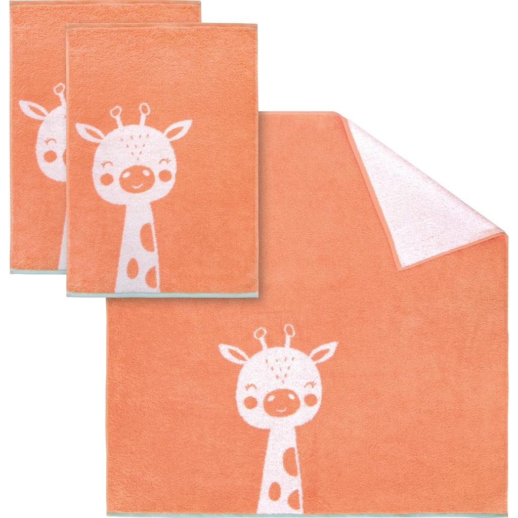 Dyckhoff Handtuch Set »Giraffe«