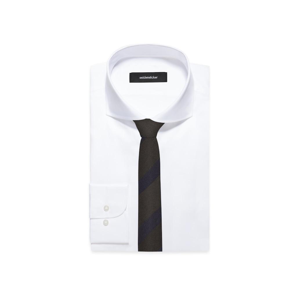 seidensticker Krawatte »Slim«, Schmal (5cm) Streifen