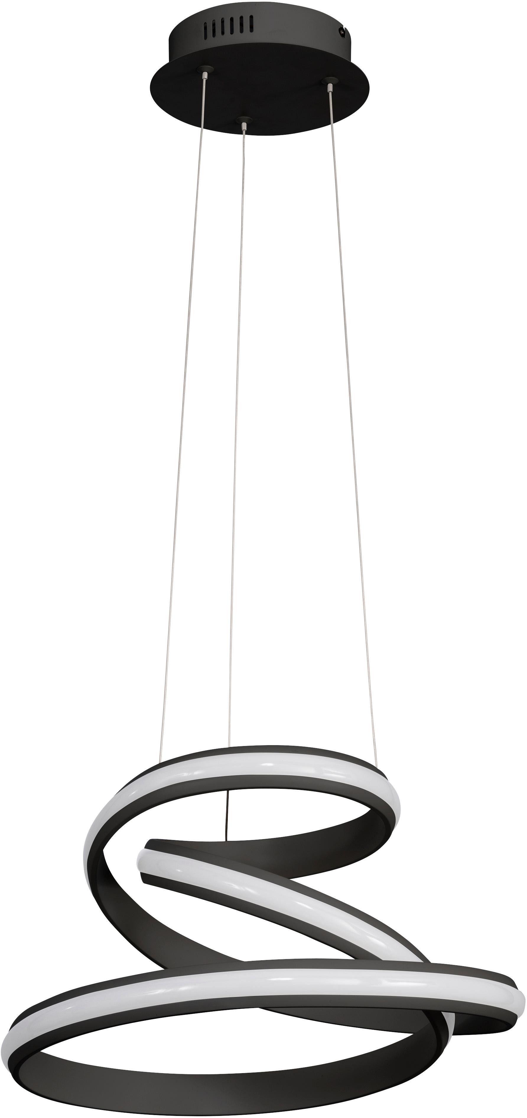 WOFI Pendelleuchte TESS, LED-Board, Warmweiß, Hängeleuchte, Hängelampe