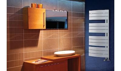 Sanotechnik Badheizkörper »Salzburg«, Stahlflachröhren gebogen 70x11mm, Handtuchheizkörper kaufen