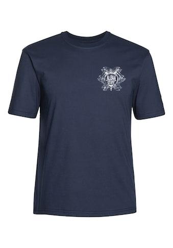 AHORN SPORTSWEAR T - Shirt mit schickem Printmotiv »Aloha Turtle White klein« kaufen
