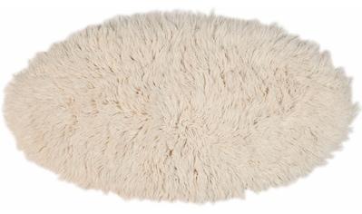 Hochflor - Teppich, »Flokos 2«, Theko Exklusiv, oval, Höhe 61 mm, handgewebt kaufen