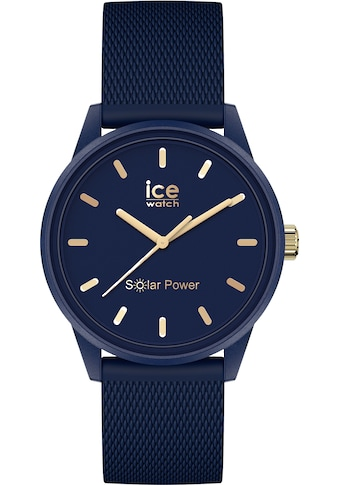 ice-watch Solaruhr »ICE solar power - Navy gold, 018743« kaufen