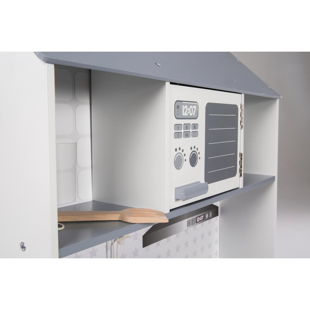 roba® Spielküche »WeißGrau«, aus Holz