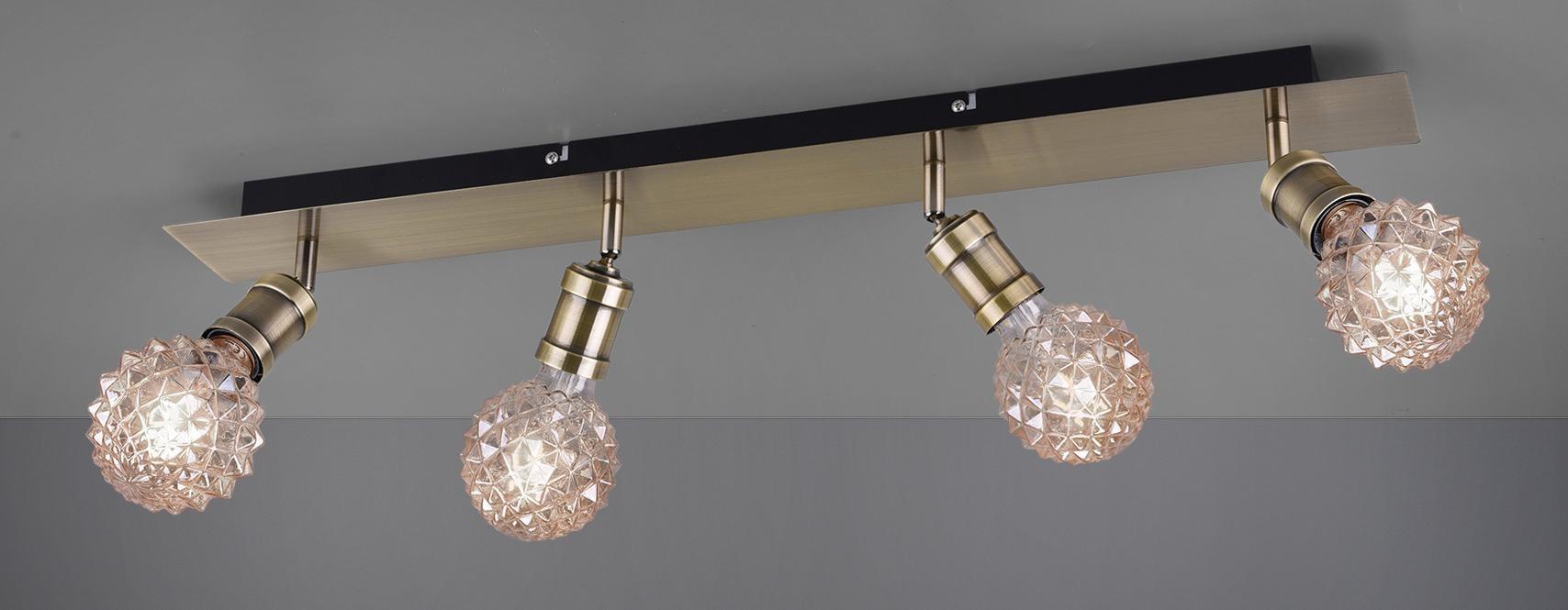 TRIO Leuchten Deckenleuchte Carl, E27, Deckenlampe