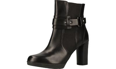 Geox High-Heel-Stiefelette »Nappaleder« kaufen
