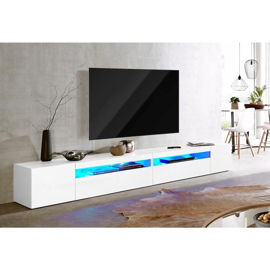 Tecnos Lowboard, Breite 260 cm, ohne Beleuchtung