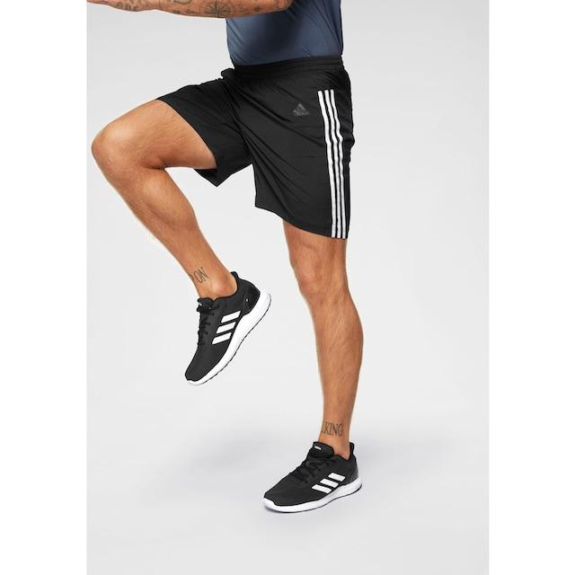 adidas Performance Laufshorts »RUN IT SHORT 3 STRIPES«