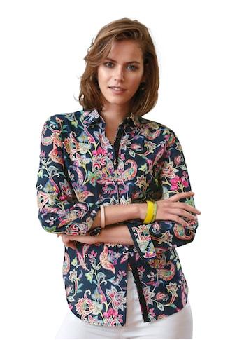 Looxent Hemdbluse »mit Hemdkragen«, und Knopf kaufen