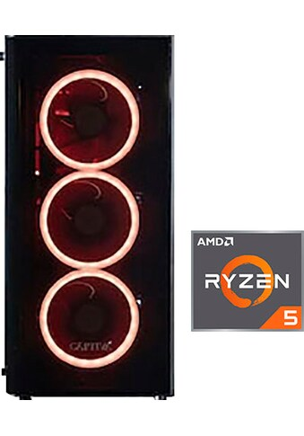 CAPTIVA »G15AG 19V3« Gaming - PC (AMD, Ryzen 5, RTX 2080 SUPER, Luftkühlung) kaufen