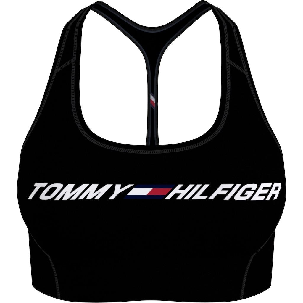 Tommy Hilfiger Sport Sport-Bustier »LIGHT INTENSITY GRAPHIC BRA«, mit Trägern für niedrige Stützkraft & Tommy Hilfiger Logo-Schriftzug