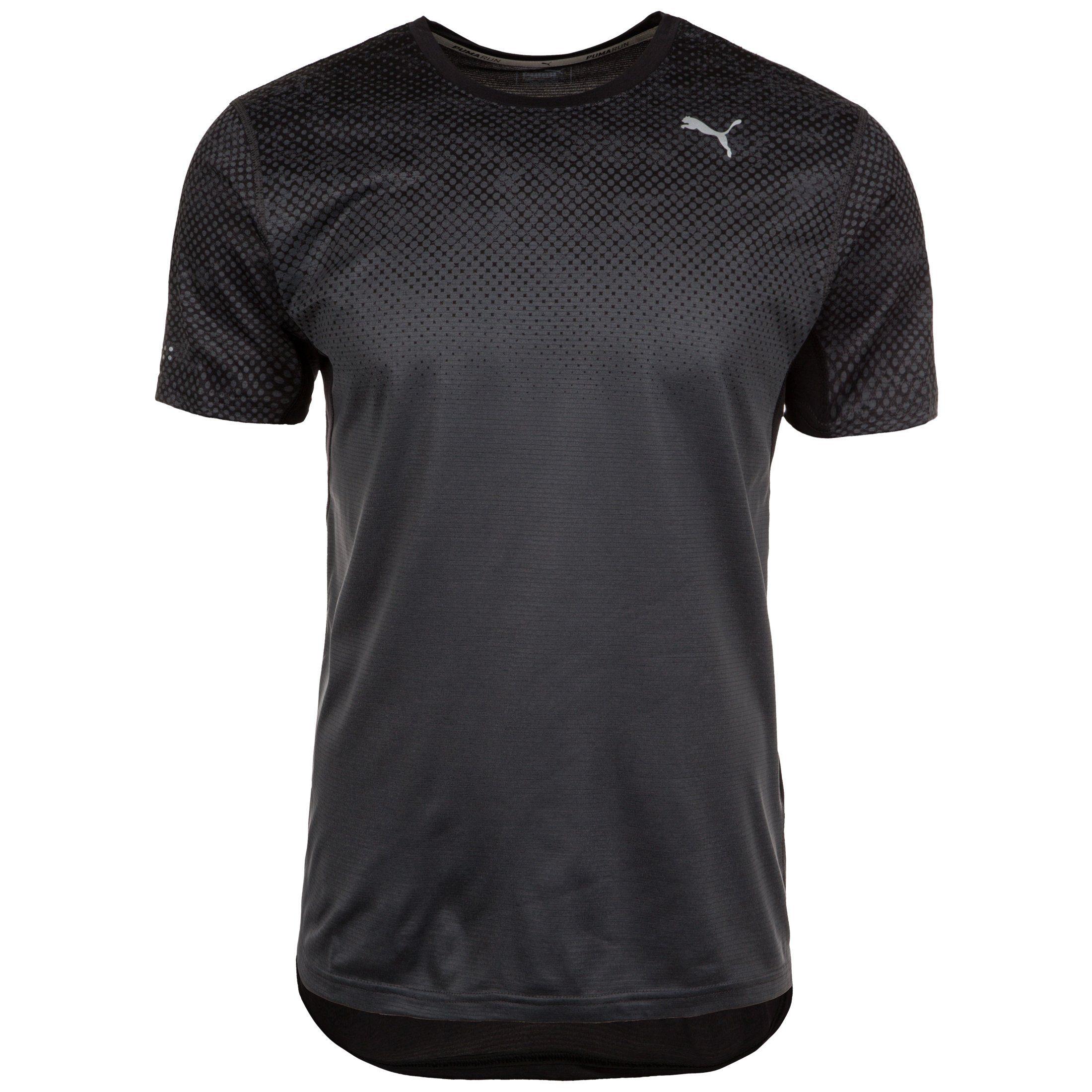 PUMA Laufshirt Graphic   Sportbekleidung > Sportshirts > Laufshirts   Schwarz   Puma