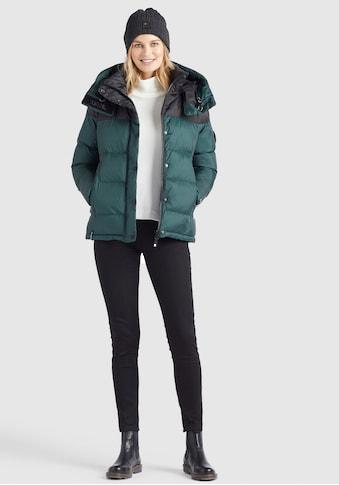 khujo Steppjacke »ADANE«, stylische Winterjacke mit abnehmbarer großer Kapuze kaufen