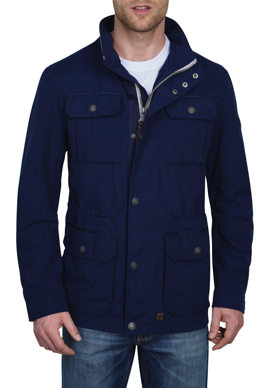 Redpoint Fieldjacket »Hendrik«   Bekleidung > Jacken > Fieldjackets   Blau   Samt - Nylon - Baumwolle - Polyester   Redpoint