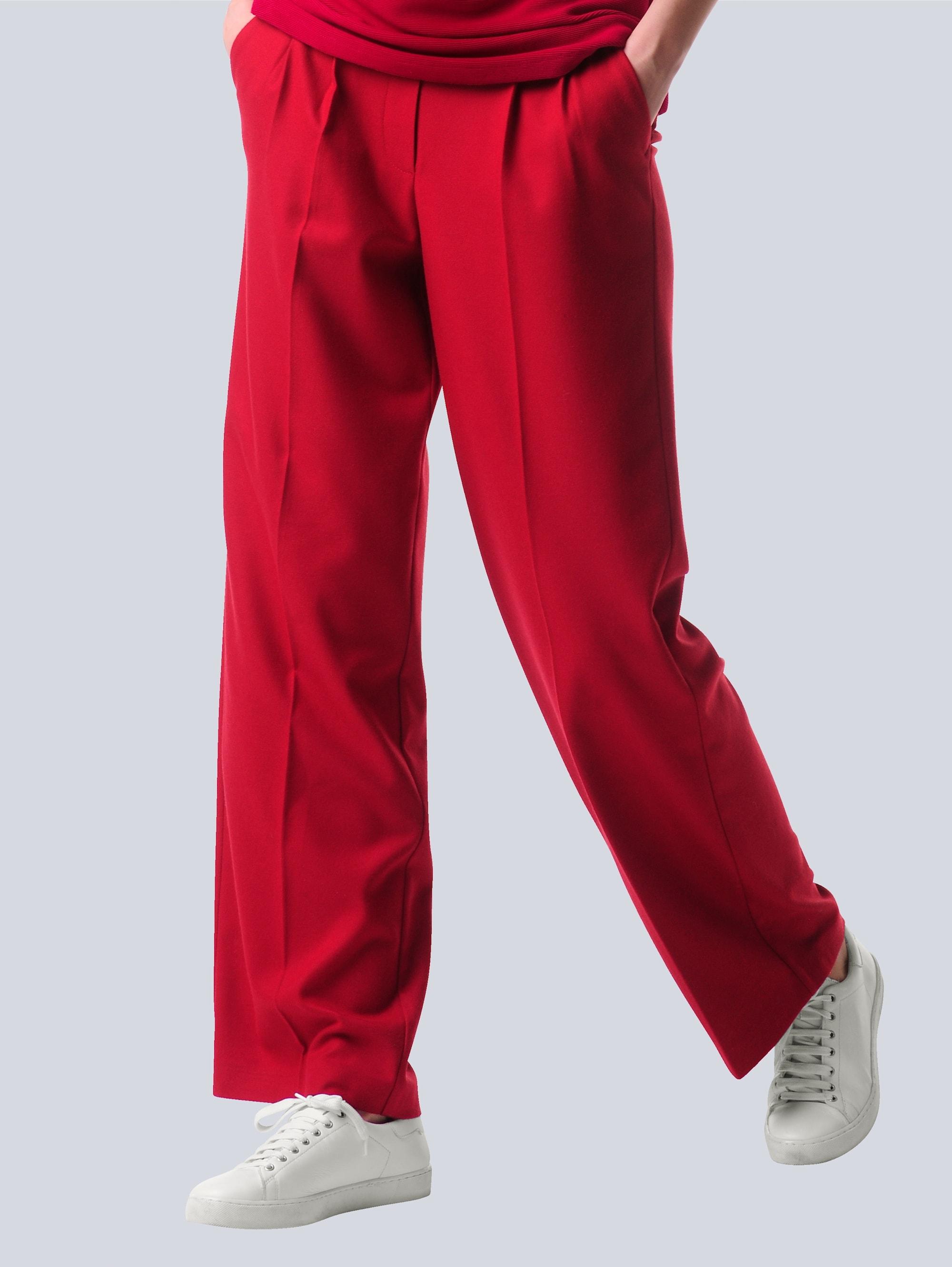alba moda -  Bundfaltenhose, in N-und K-Größen