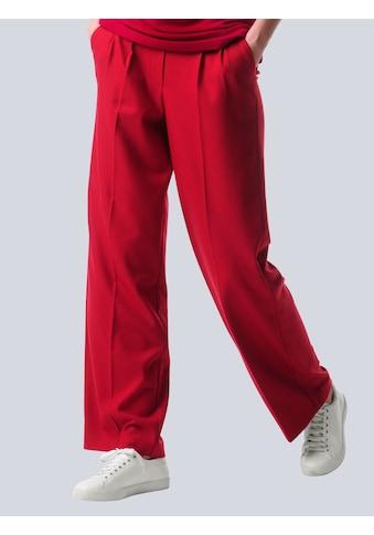Alba Moda Bundfaltenhose, in N-und K-Größen kaufen