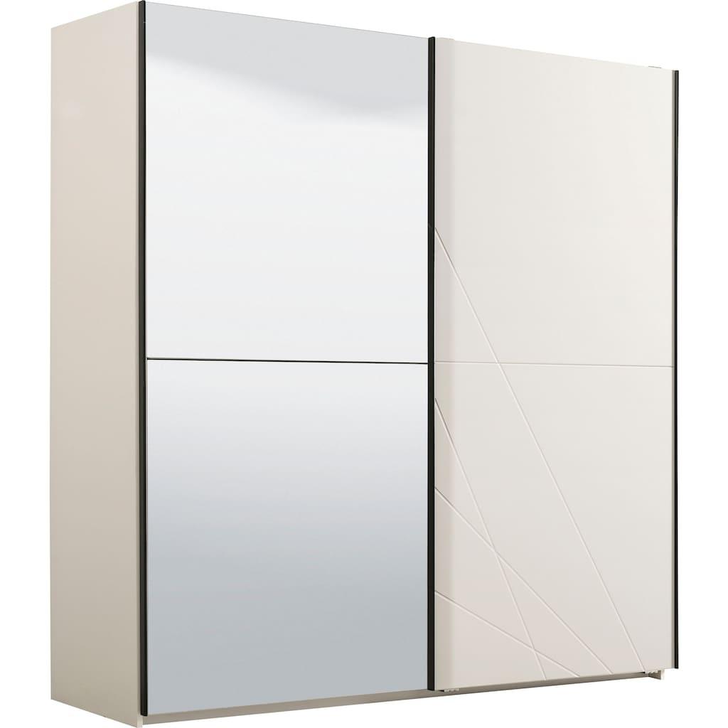 Schwebetürenschrank »Ksanti«, hochglänzende Front, mit Spiegel