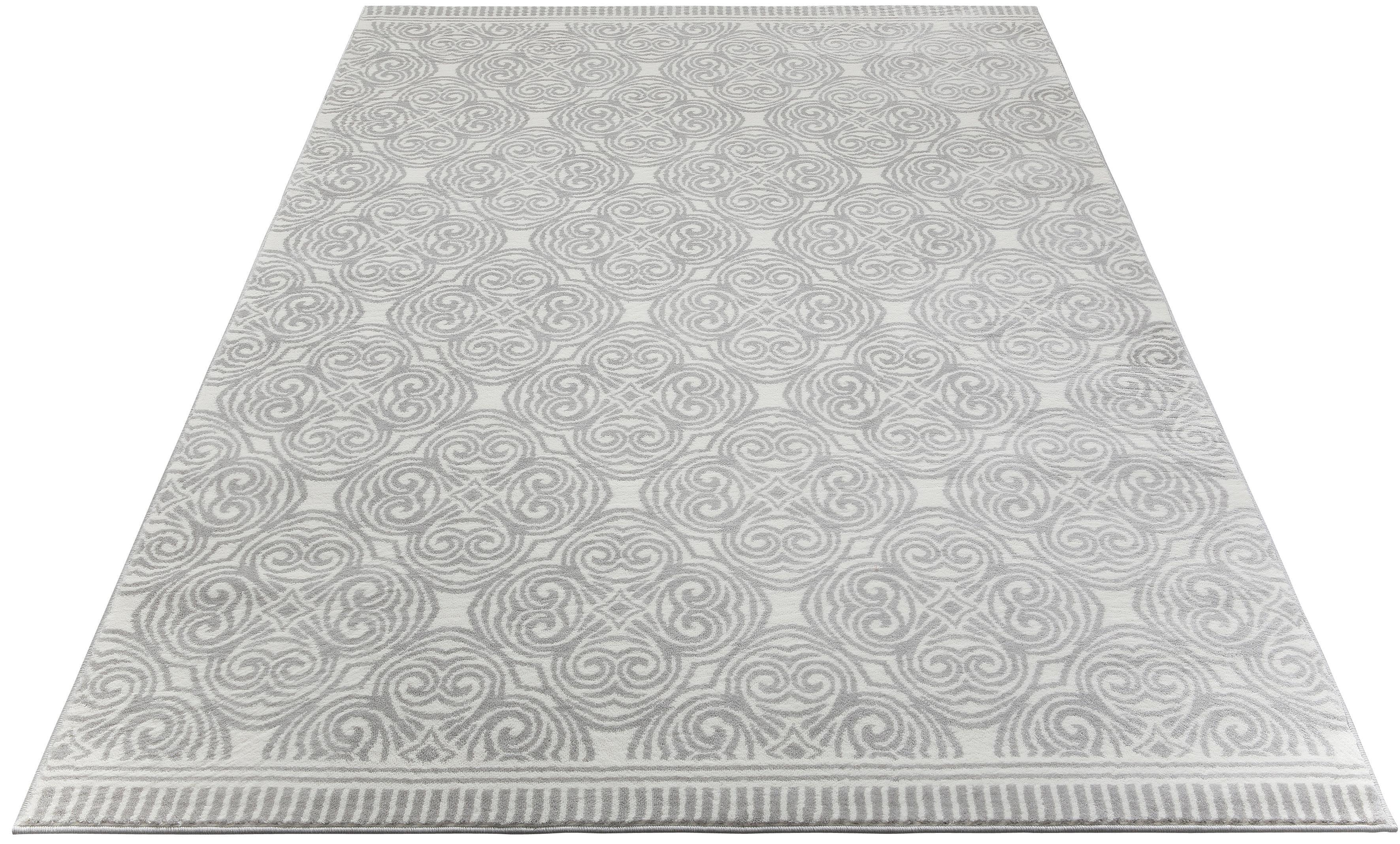 Teppich Kusma andas rechteckig Höhe 11 mm maschinell gewebt