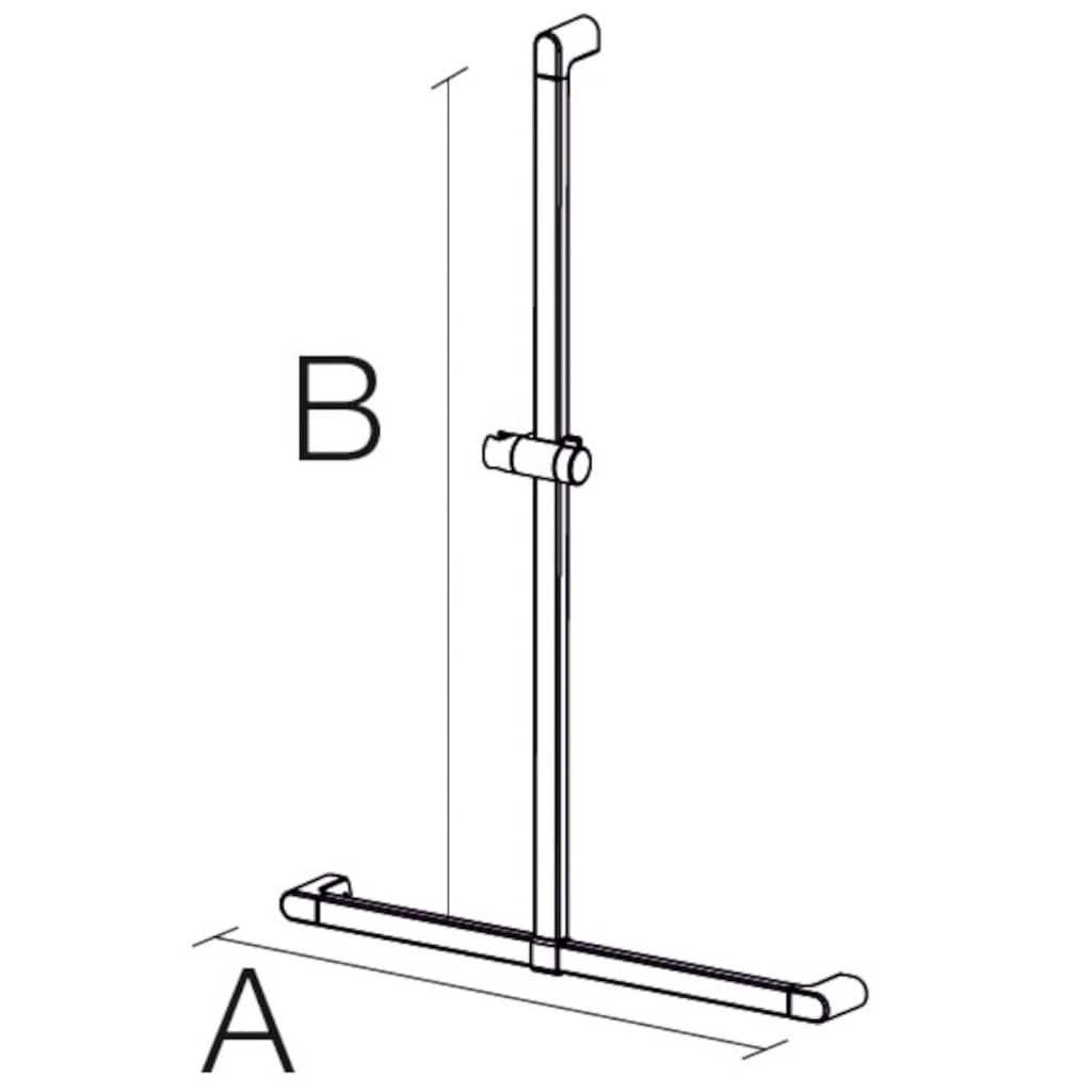 Provex Haltegriff »Serie 500«, belastbar bis 130 kg, mit Brausehalter