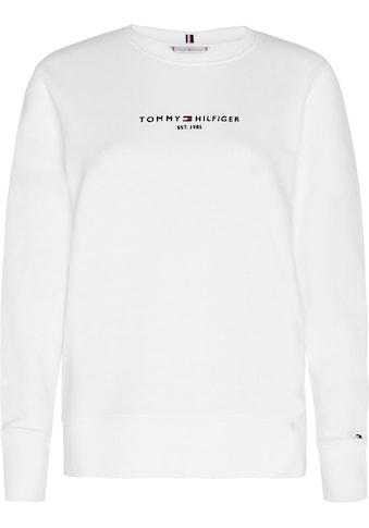 TOMMY HILFIGER Sweatshirt »TH ESS HILFIGER C - NK SWEATSHIRT« kaufen