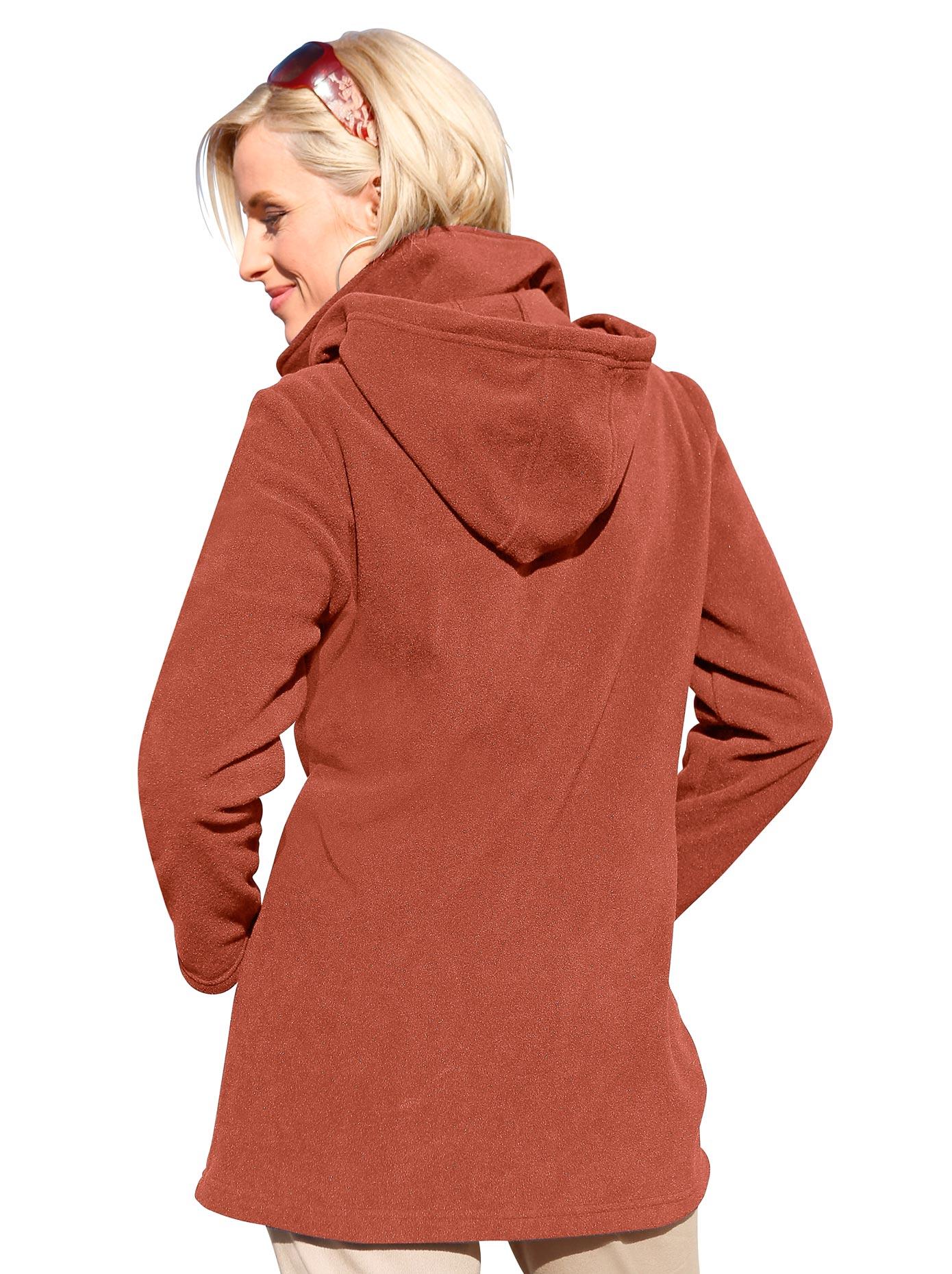 Casual Looks Fleece-Jacke mit Kordelstopper   Bekleidung > Jacken > Fleecejacken   Casual Looks