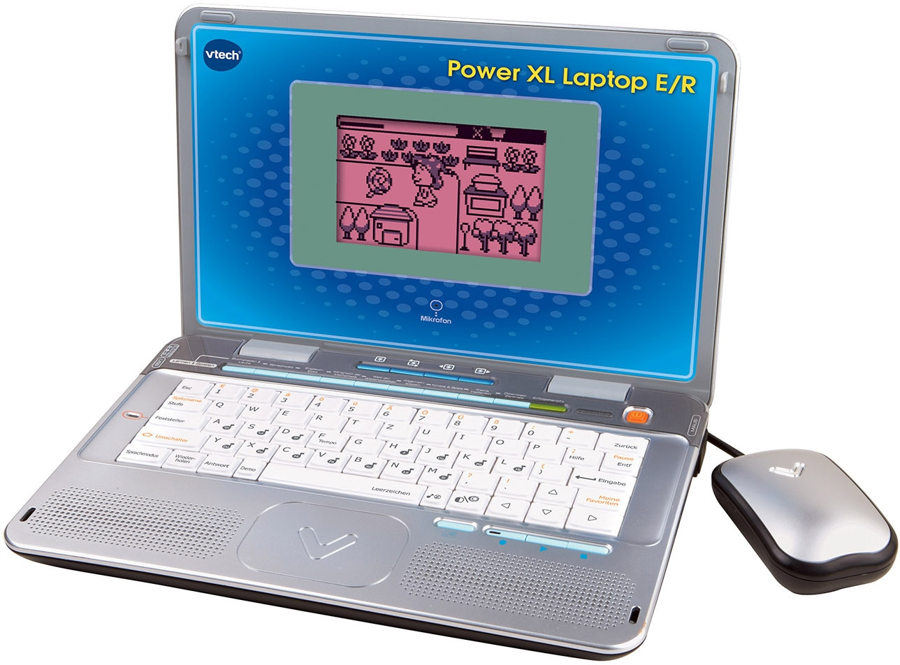 Vtech Kindercomputer Power XL E/R orange Kinder Kinder-Computer Lernspielzeug