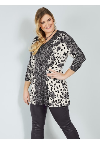 Sara Lindholm by Happy Size Longpullover mit Animaldessin kaufen