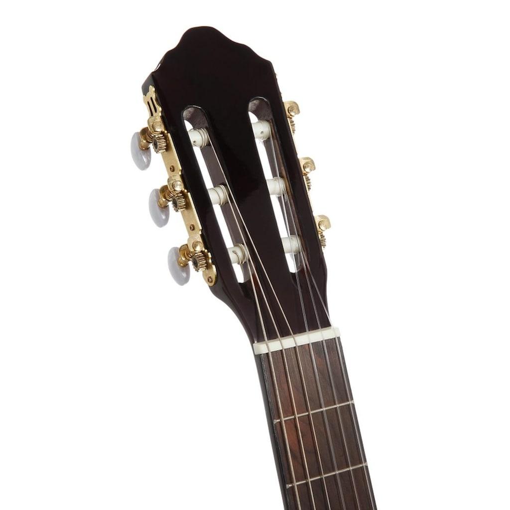 Konzertgitarre »Jose Ribera® Konzertgitarre 4/4 mit Equalizer«, 4/4