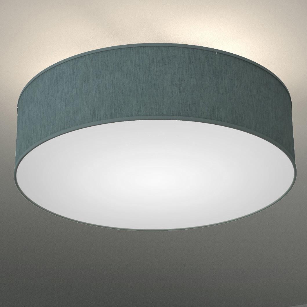 B.K.Licht Deckenleuchte, E14, Warmweiß, LED Deckenlampe Stoff-Textil-Lampenschirm Schlafzimmer Wohnzimmerlampe E14