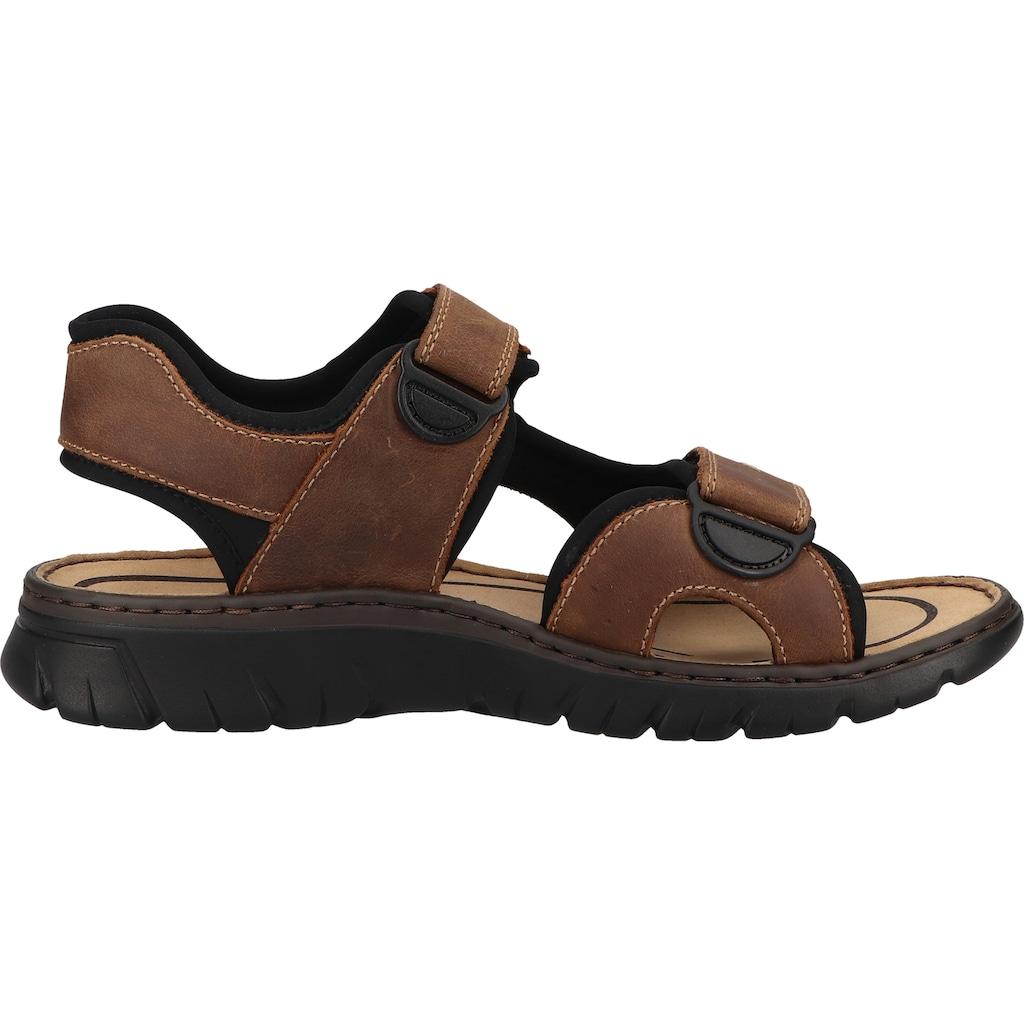 Rieker Sandale »Lederimitat«