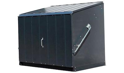 TRIMETALS Fahrrad - /Mülltonnenunterstand »Stowaway«, für 2x240 l, Stahl, BxTxH: 138x89x113 cm kaufen