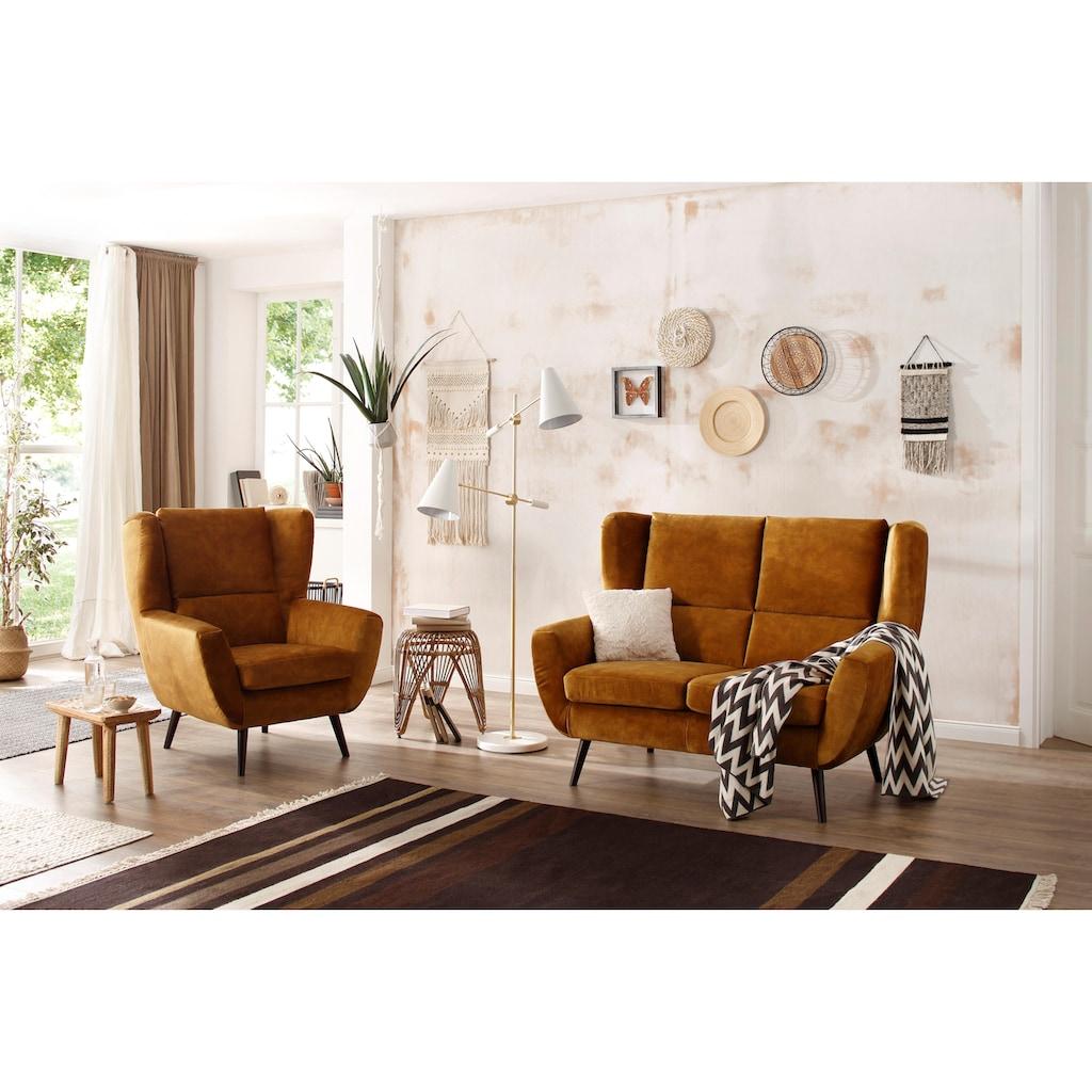 Home affaire Sessel »Forli«, auch in NaturLEDER®