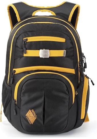 NITRO Schulrucksack »Hero, Golden Black« kaufen