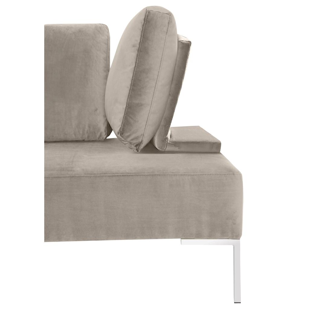 reposa Daybett »ELBA«, designed by Emell Gök Che, inklusive flexibel einsetzbare Kissenstützen