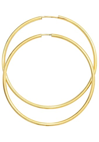 JOBO Paar Creolen, 585 Gold 46 mm kaufen