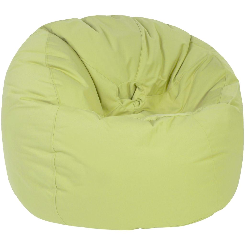 OUTBAG Sitzsack »Donut Plus«, wetterfest, für den Außenbereich